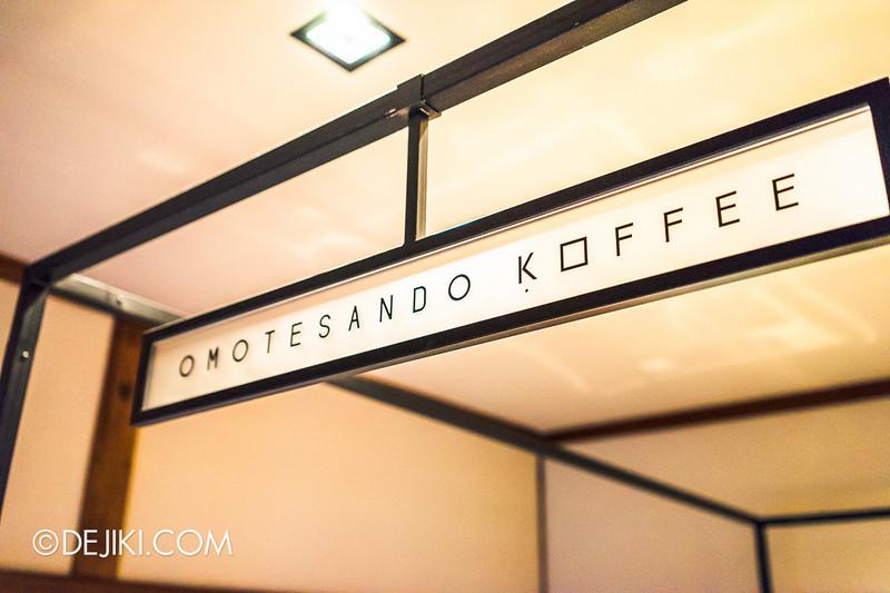 OMOTESANDO KOFFEE 8 - Signboard Minimalist