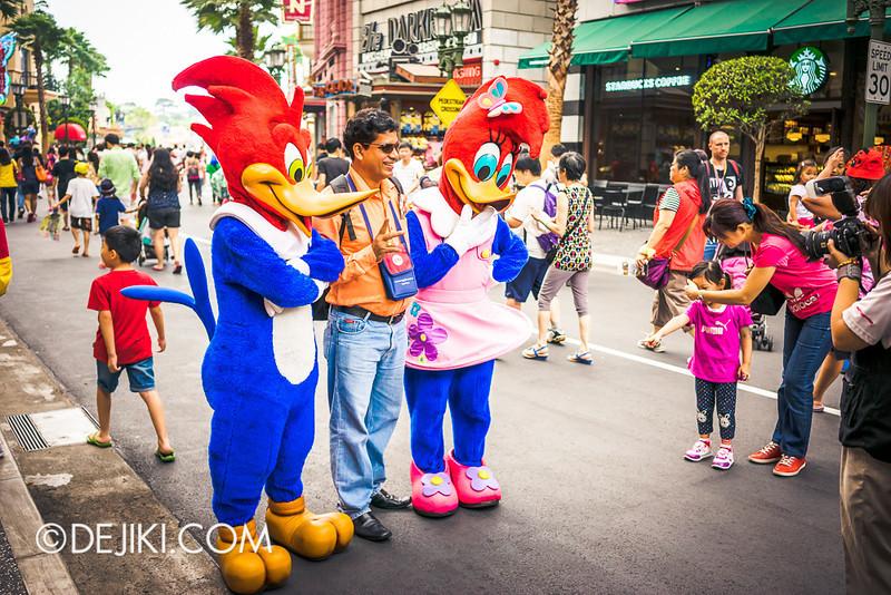Universal Studios Singapore - Woodpeckers