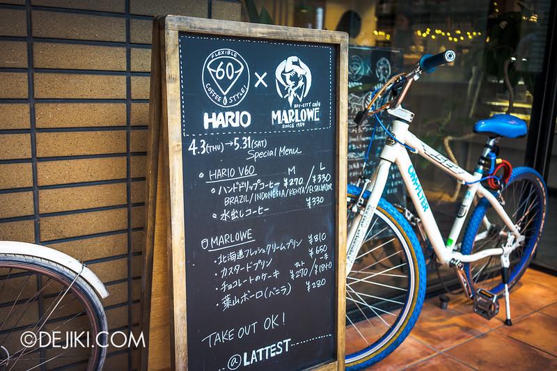 LATTEST OMOTESANDO Espresso Bar 3 - HARIO x MARLOWE