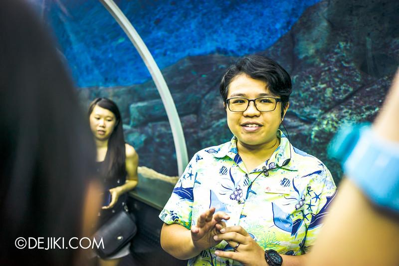 Resorts World Sentosa RWS Fans' Day Out 2015 - S.E.A. Aquarium Tour
