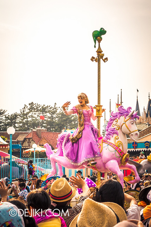 Tokyo Disneyland - Happiness is Here Parade 20 / Princesses and Fairies, Rapunzel