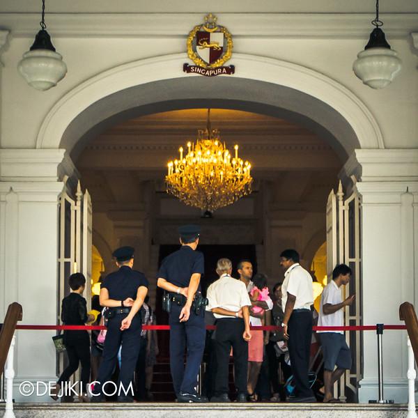 The Istana, Singapore - Istana Main Building, Tour of the building