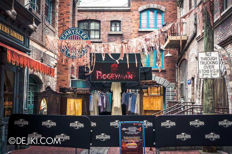 Halloween Horror Nights 4 Singapore - Before Dark 2 - Bogeyman scarezone 12 / Closets and Wardrobes