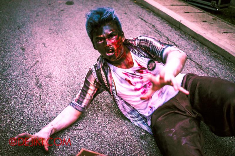 Sentosa Spooktacular 2014 - LADDALAND Scare zone roaming Scare Actors 3