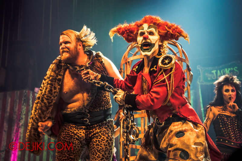 Halloween Horror Nights 4 - Jack's Nightmare Circus - Jack unchains the Animal