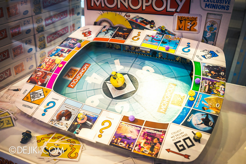 Universal Studios Singapore - Park Update July 2014 - Despicable Me 2 Minion Monopoly