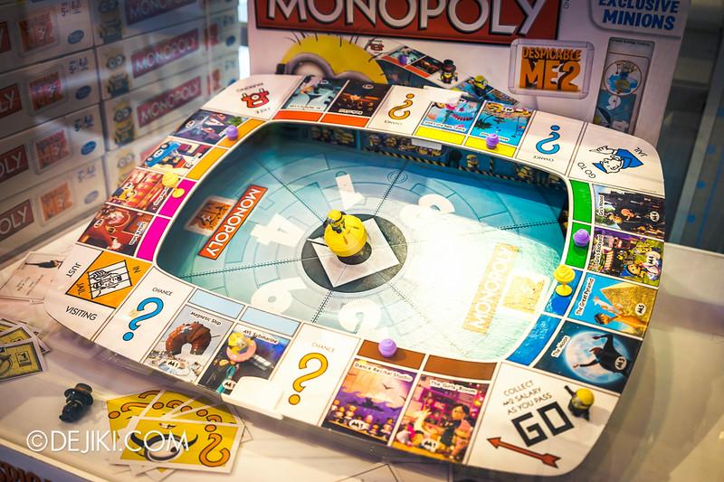 Universal Studios Singapore - Park Update July 2014 - Despicable Me 2 Minion Monopoly