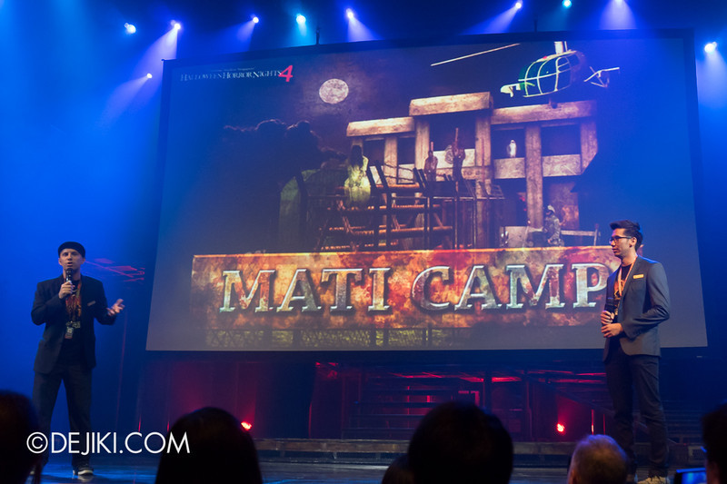USS HHN4 Halloween Horror Nights 4 - Media Preview Launch event / MATI CAMP