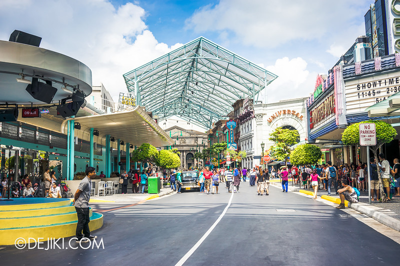 Universal Studios Singapore - Park Update June 2014 - Radiant Sunshine