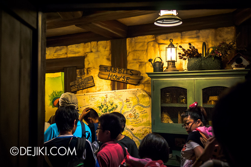 Tokyo Disneyland - Pooh's Hunny Hunt: Rabbit's House 2