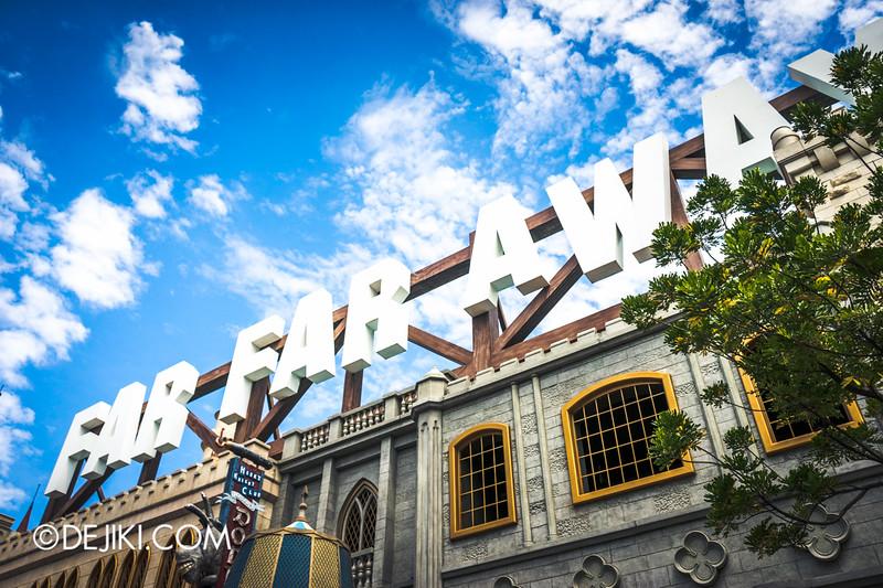 Universal Studios Singapore - Park Update February 2015 - Puss in Boot's Giant Journey - FAR FAR AWAY