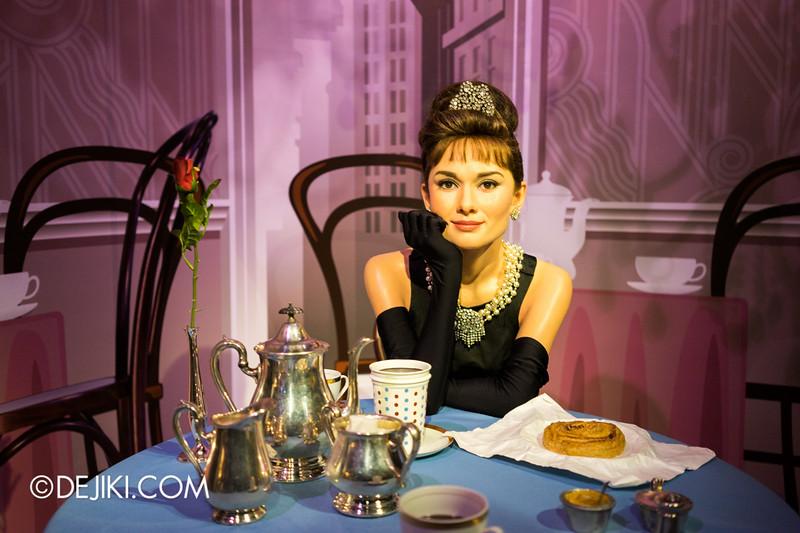 Madame Tussauds Singapore - Audrey Hepburn
