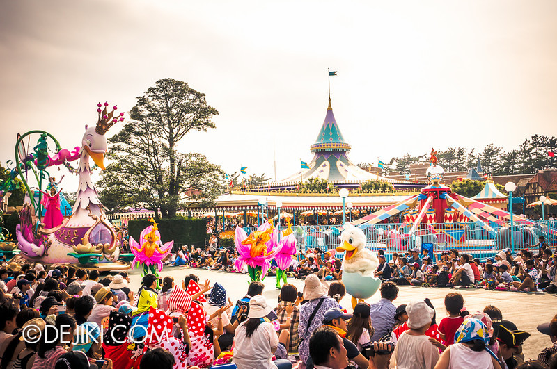 Tokyo Disneyland - Happiness is Here Parade 21 / Princesses and Fairies, Ugly Duckling