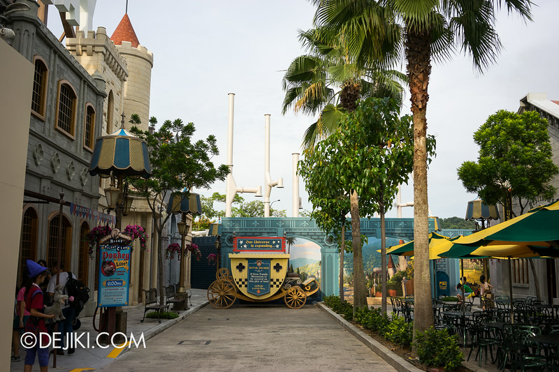 Universal Studios Singapore - Park Update July 2014 - USS New Attraction 2014 at Far Far Away Extension 01
