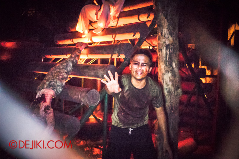 Halloween Horror Nights 4 - MATI CAMP haunted house - Welcome to THE CAMP