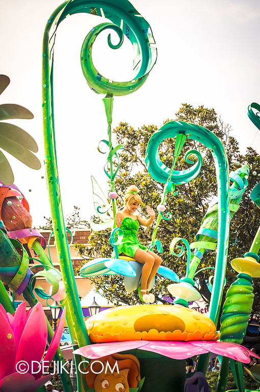 Tokyo Disneyland - Happiness is Here Parade 27 / Princesses and Fairies, Tinkerbell