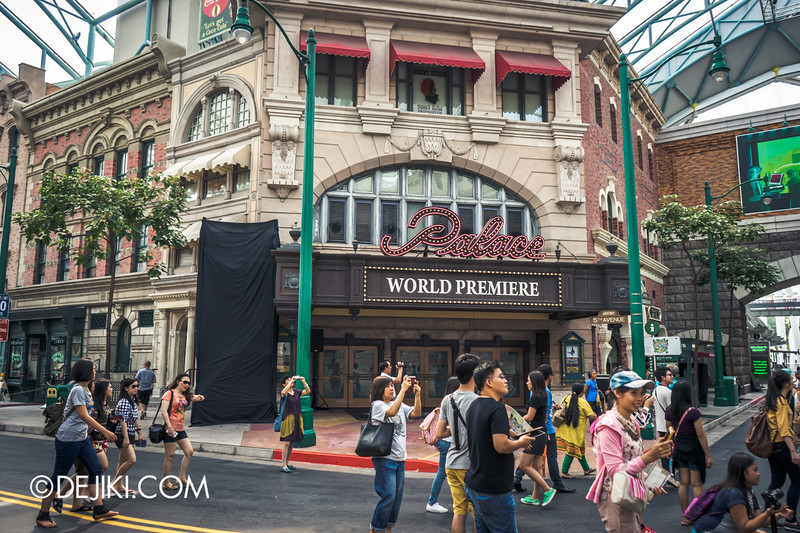 Halloween Horror Nights 4 Singapore - Before Dark 3 - Demoncracy scare zone - Street 2