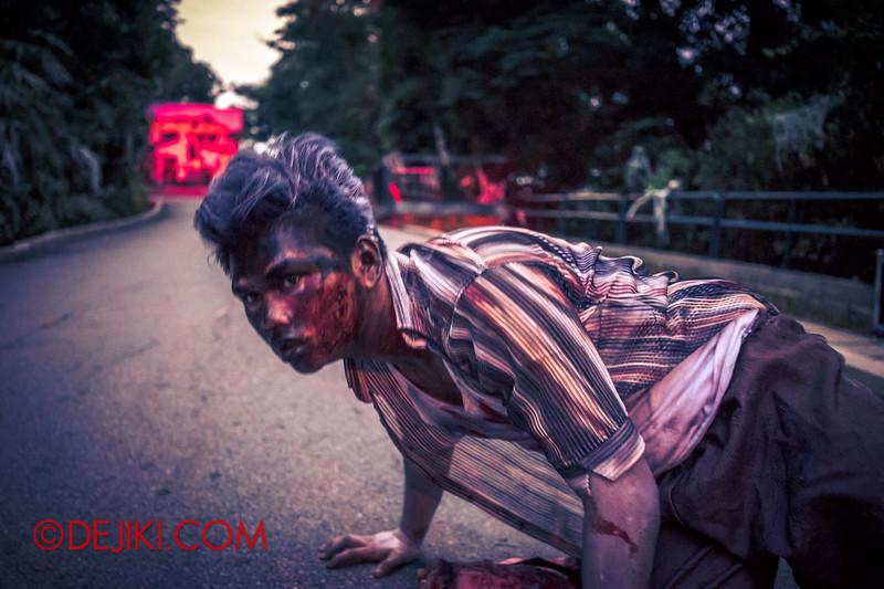 Sentosa Spooktacular 2014 - LADDALAND Scare zone roaming Scare Actors 4