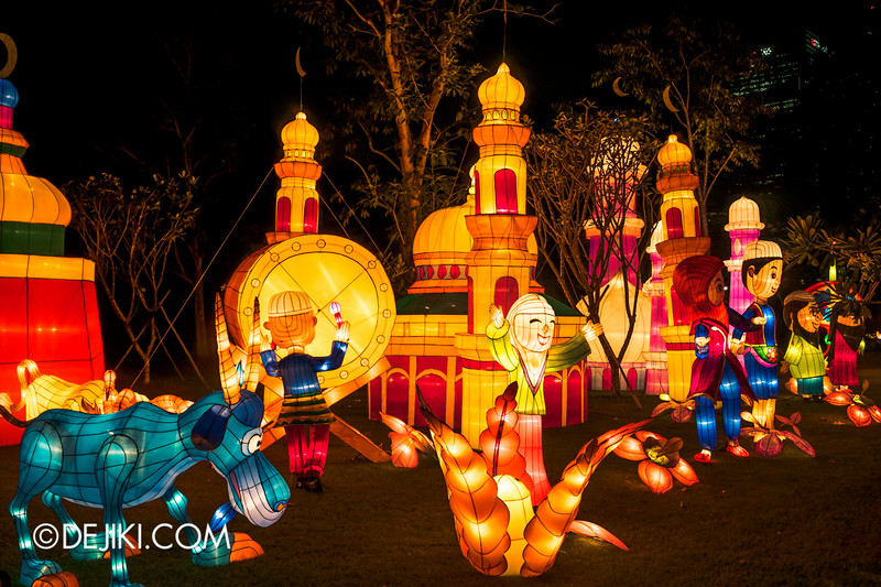 Gardens by the Bay - Mid-Autumn Festival at the Gardens 2014 - Lanterns / Racial Harmony in Singapore 4