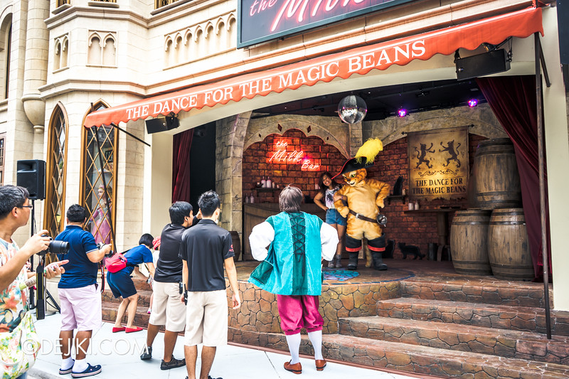 Universal Studios Singapore - Park Update September 2014 - The Dance for the Magic Beans - Postshow Photography