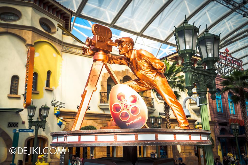 Universal Studios Singapore - Park Update March 2016 / Egg Hunt hint