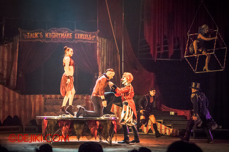 Halloween Horror Nights 4 - Jack's Nightmare Circus - Duo Skaters from Italy 6