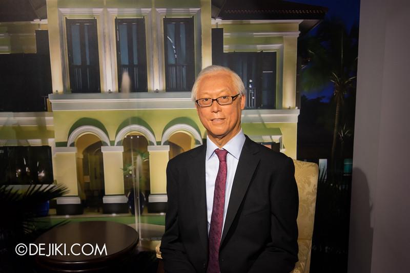 Madame Tussauds Singapore - Goh Chok Tong