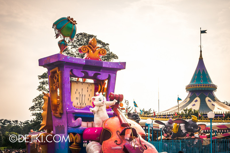 Tokyo Disneyland - Happiness is Here Parade 8 / The Aristocats
