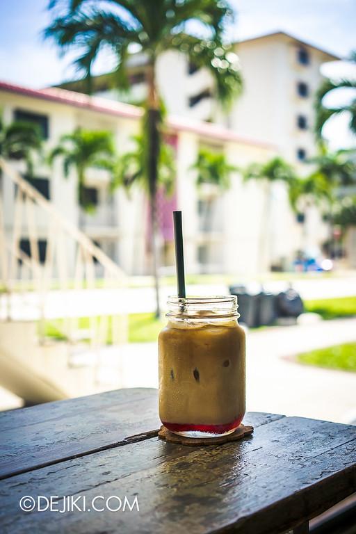 Tian Kee & Co. Cafe - Iced Snag; Bandung Latte?