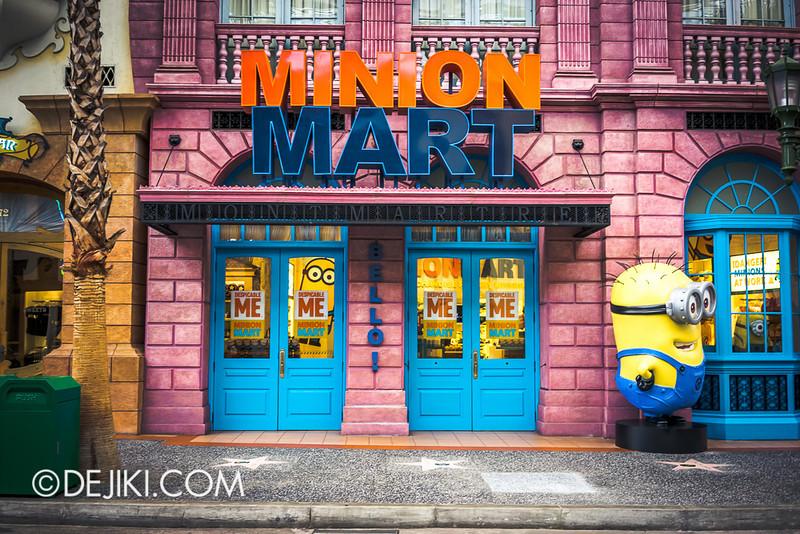 Universal Studios Singapore - Minion Mart!