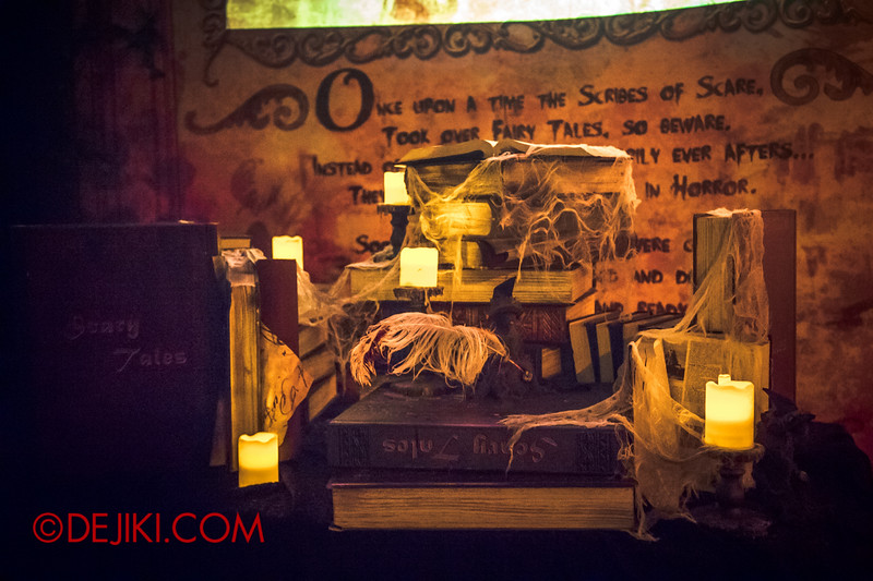 Halloween Horror Nights 4 - Scary Tales scare zone - Tombs of tales untold