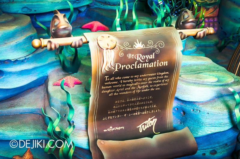 Mermaid Lagoon - Triton's Royal Proclamation