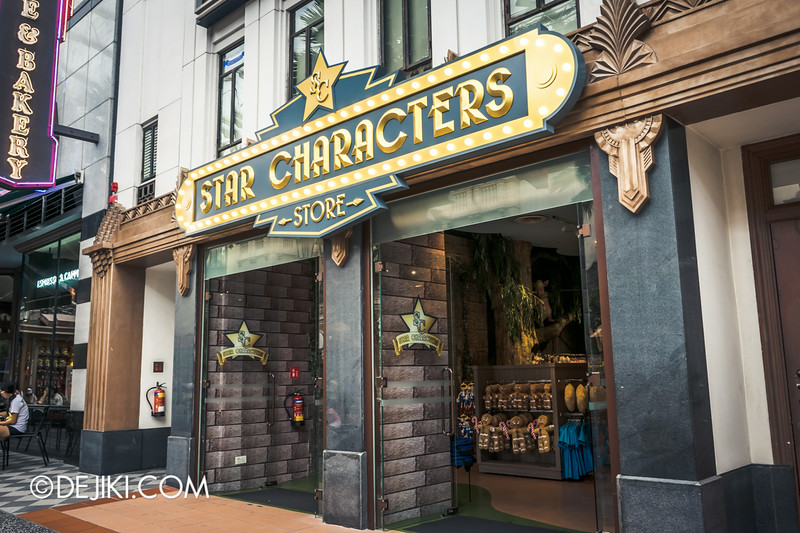 Universal Studios Singapore - Park Update September 2014 - Star Characters store's new marquee
